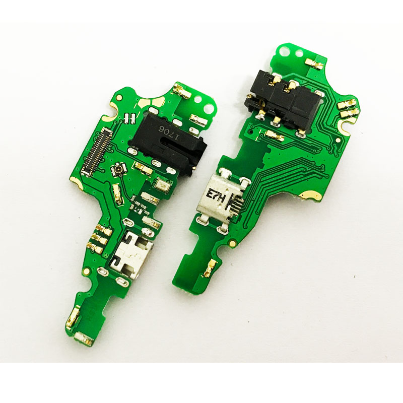 5Pcs/lot Dock Connector Charging Port USB Charging port Flex Cable For Huawei mate 10 lite With Ear Earphone Jack