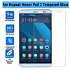 100 High Quality Utral Thin 9H Tempered Glass For Huawei Honor Pad2 Screen Protector For Huawei