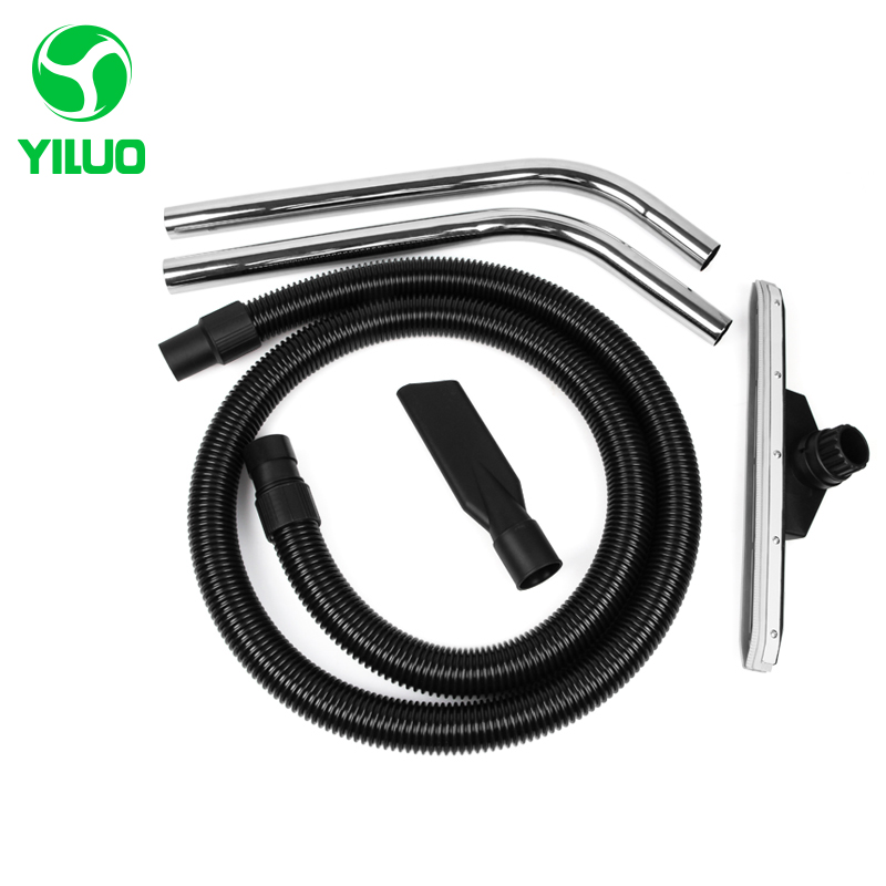 цена Diameter 40mm Black Flexible EVA threaded Hose+bending pipe+Floor brush +nozzle suction for industrial Vacuum Cleaner part BF501