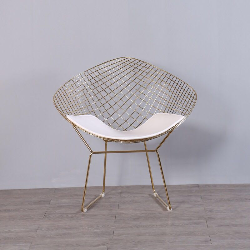 Free shipping U-BEST Golden Metal Wire Dining Chair Diamond Chair,fashion outdoor wire mesh diamond dining chairFree shipping U-BEST Golden Metal Wire Dining Chair Diamond Chair,fashion outdoor wire mesh diamond dining chair
