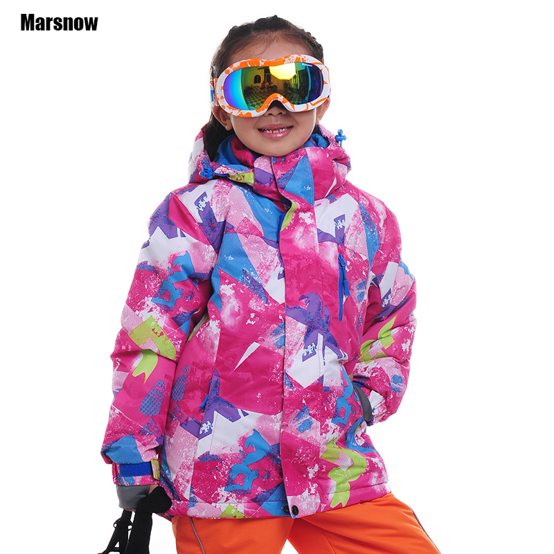 Winter thicken jacket Children 110-160 Outdoor snowboard waterproof Outerwear Coats kid's Boys Snow Skiing Jackets for girls vector warm winter ski jacket girls windproof waterproof children skiing snowboard jackets outdoor child snow coats kids