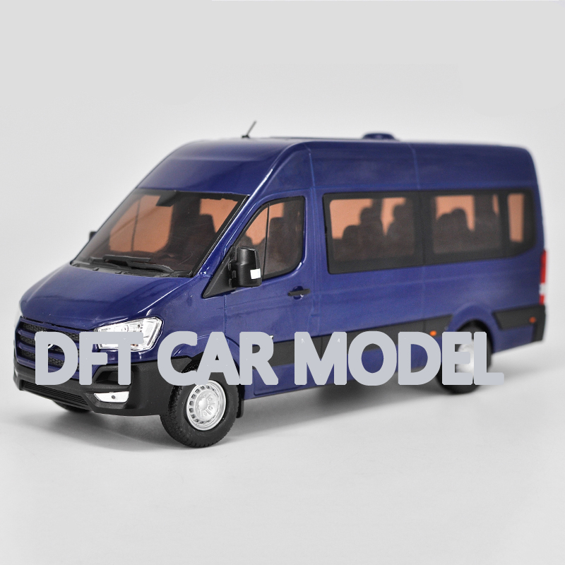 1:24 Alloy Toy Vehicles SOLATI H350 MPV Car Model Of Children's Toy Cars Original Authorized Authentic Kids Toys