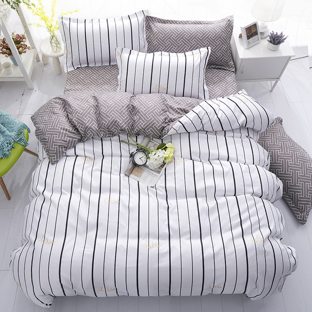 Classic Bedding Sets – Black,White,Grey