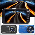 "4.0 Inch IPS 1296P HD Car DVR  Night Vision Dash Cam ,170"" Wide-angle Car Camera Recorder G-sensor Video Registrator ADAS system"