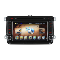 2 Din 7 Inch Car DVD Player For VW Volkswagen Passat POLO GOLF Skoda Seat Leon