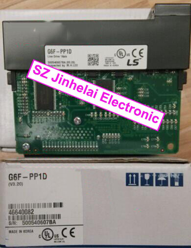 все цены на 100% New and original  G6F-PP1D   LS(LG)  PLC, Position Module онлайн