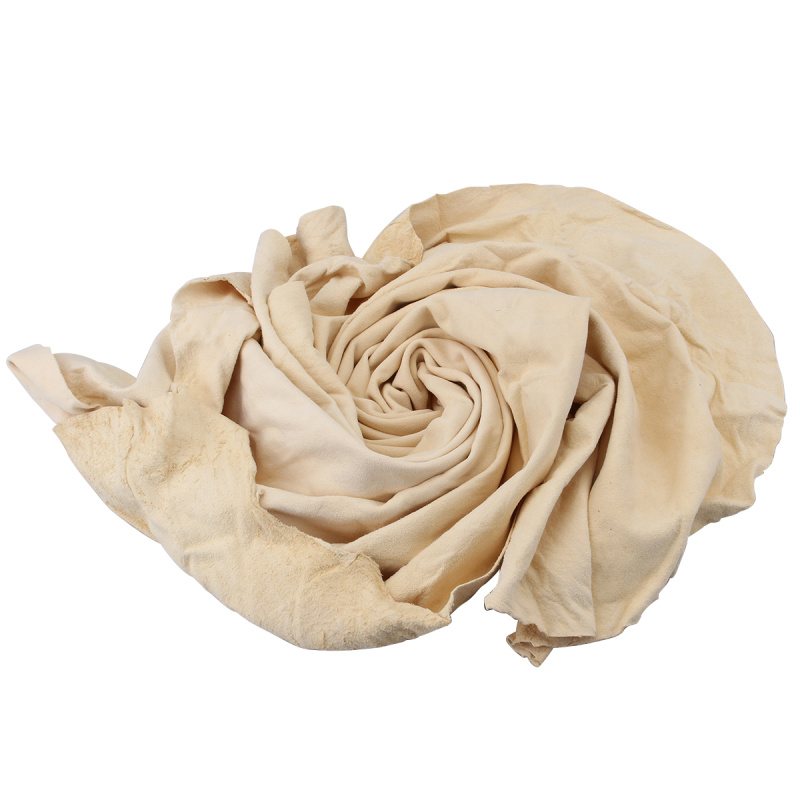 Irregular New Natural Chamois Leather Car Cleaning Cloth Microfiber Suede Absorbent Washing Towel Auto Care Styling Tools