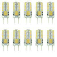 10pcs G4 AC / DC 12V (10-20V) 3W 140-160LM 6000-6500K SMD 3014 48-LED Bulbs LED Lamps Lights