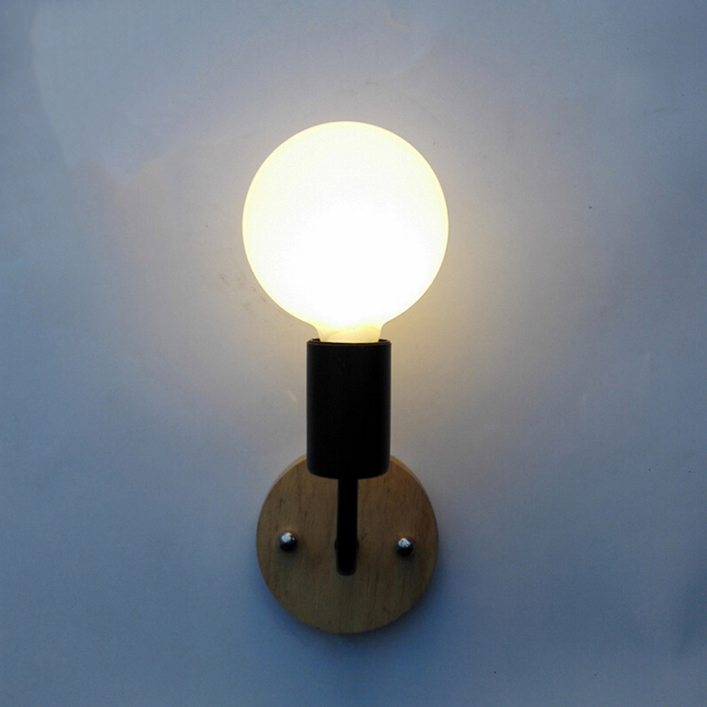 e27 6w antique led globe light bulb warm white g80 nondimmable wall lamp bedroom - Wall Lamps For Bedroom