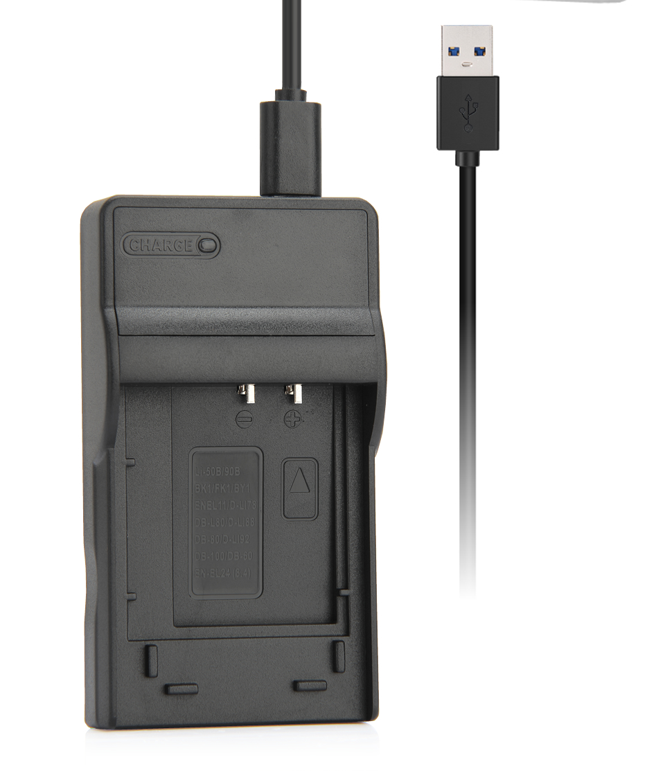 ᐃZhenfa USB Carregador de Bateria para OLYMPUS SP-810UZ, SP810UZ SP ... fc529bec90