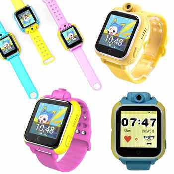 Fashion Smart watch Kids Wristwatch Q730 3G GPRS GPS Locator Tracker Smartwatch Baby Watch With Camera For IOS Android