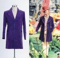 Вилли Вонка и шоколадная фабрика 1971 куртка Пальто; костюм Для мужчин одежда