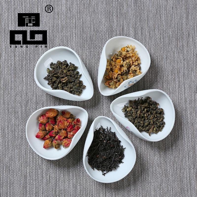 TANGPIN Coffee And Tea Tools Ceramic Tea Scoops Ceramic Accessories Chinese Kung Fu Tea Set