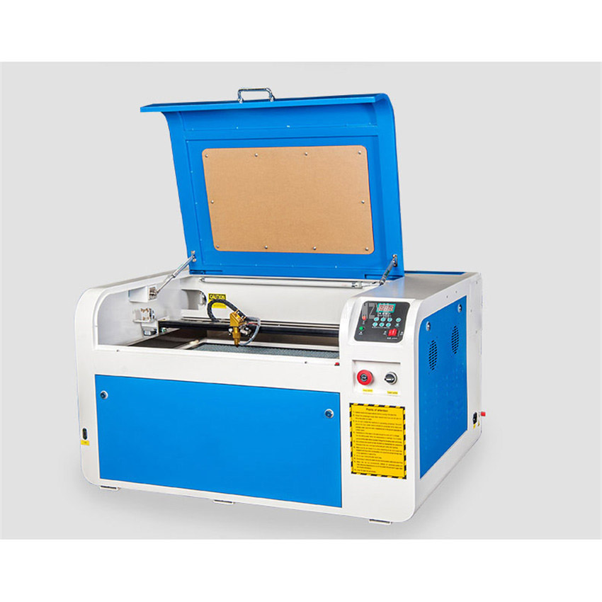 60W/80W Mini Desktop Acrylic CO2 Laser Engraving Cutting Machine Engraver Cutter Plotter PVC Wood Plastic Engraving Machine 4060