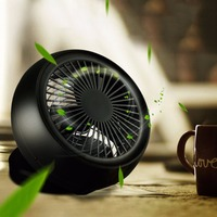 New 6 Inch Table Portable Fan Stylish Adjustable Desktop Mini Cooling Fans By Charger Or Battery