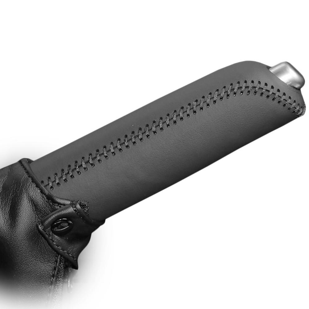 Handbrake Covers Case For Mazda CX-5 Handbrake Grips Car Styling Auto Supplies  Interior Decoration Genuine Leather