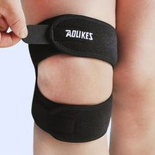 1 PC Knee Pads Patella Support Adjustable Knee Brace Sleeve Wrap Cap Stabilizer Sports Knee Protector Black(China)