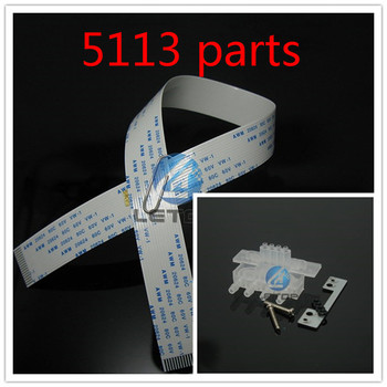 8 PCS 5113 Head Cable 16pins 40cm+4 PCS 5113 Head Adapter /5113 Printhead Transfer Tool Device