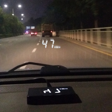 Automobile obd2 Vehicle HUD Rise Monitor OBD Driving Computer Speed Projector head up display Security A100 Simple car styling