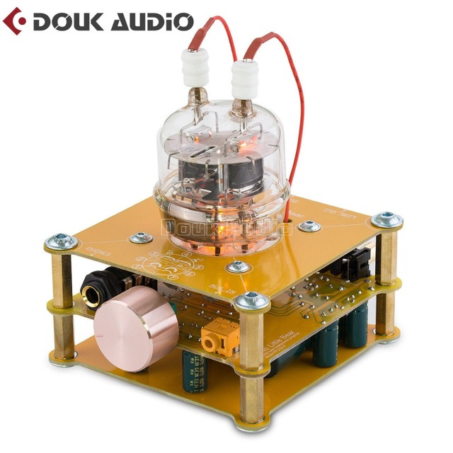 US $75 73 15% OFF|Nobsound FU32 Valve Tube Amplifier Stereo Hi Fi Pre  amplifier Class A Mini Home Headphone Amp-in Amplifier from Consumer  Electronics
