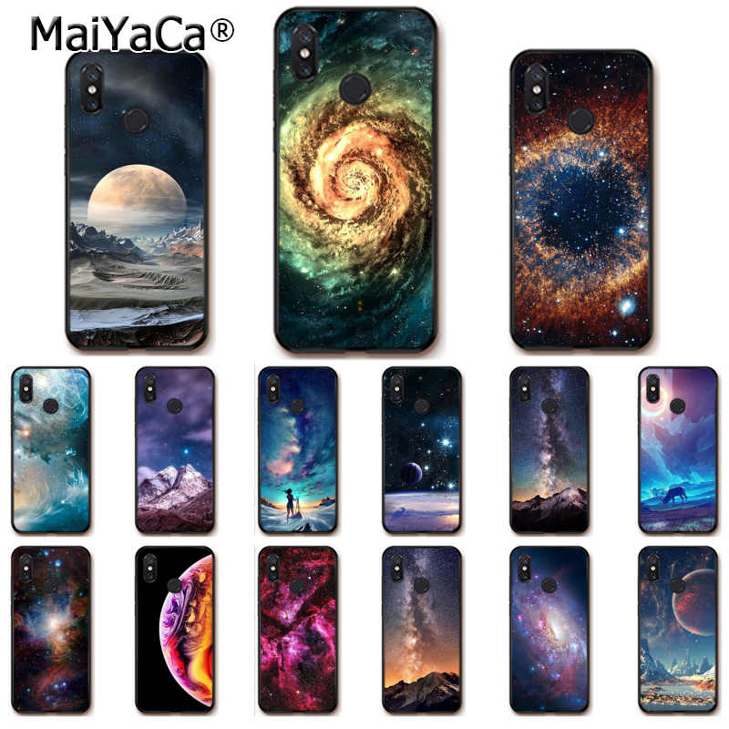 MaiYaCa Star Space Starry Sky สำหรับ Xiaomi Redmi8 4X 6A S2 7A 6A Redmi 5 PLUS Note5 7 Note8Pro