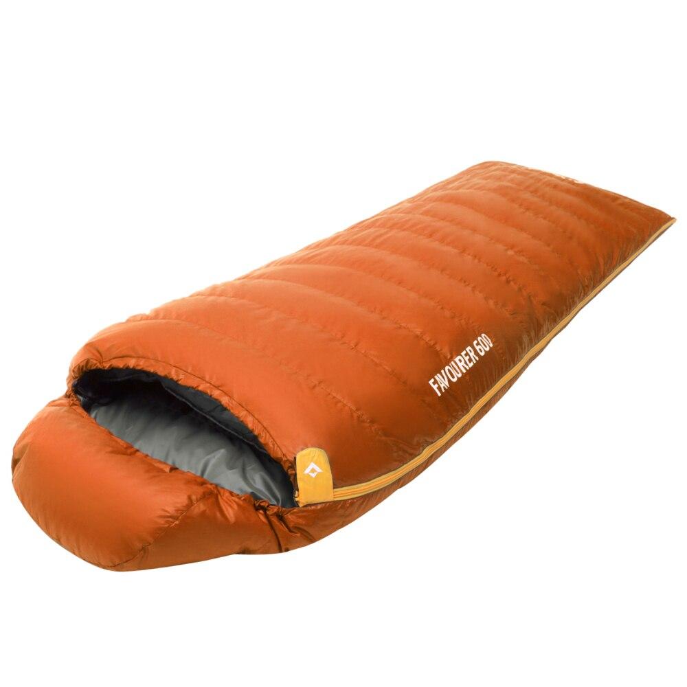 KingCamp зимний утиный пух Сверхлегкий 220 см спальный мешок для наружного трекинга спальный мешок Кемпинг Туризм