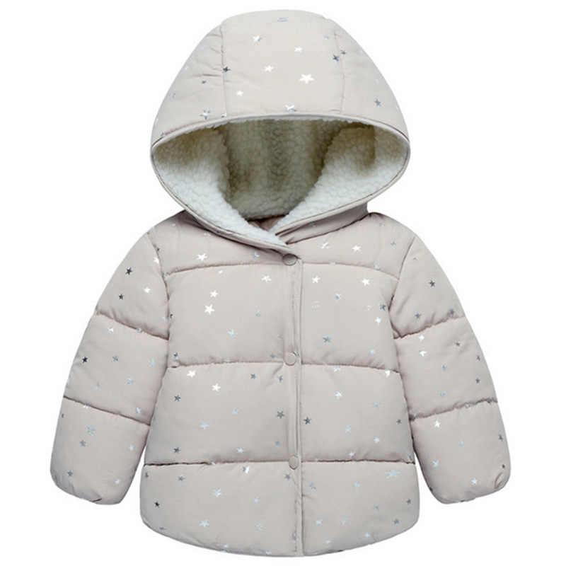 Рождественские парки для маленьких девочек, детская куртка, детская осенне-зимняя верхняя одежда, теплое пальто с капюшоном для девочек, зимний комбинезон