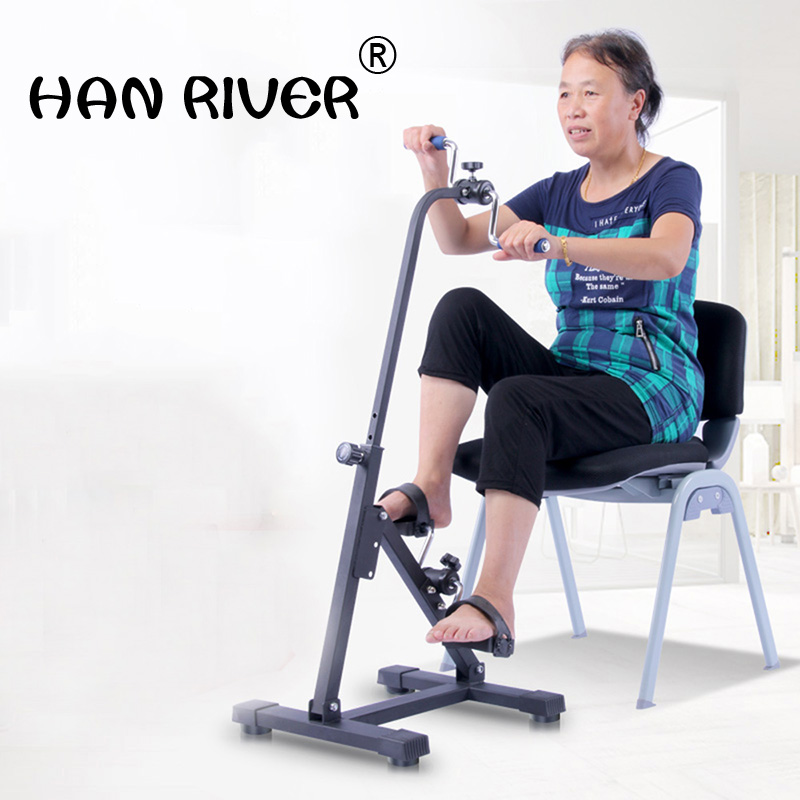 Onset of exercise rehabilitation old man hands stroke hemiplegia training equipment machine walker bicycle massage цена