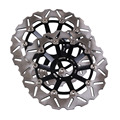 Arashi Front Brake Disc Rotors Set For Honda CB1 400 1989-1990 & CB400 SF / Superour (NC31) 1992-1997 & CB600 Hornet 1998-1999