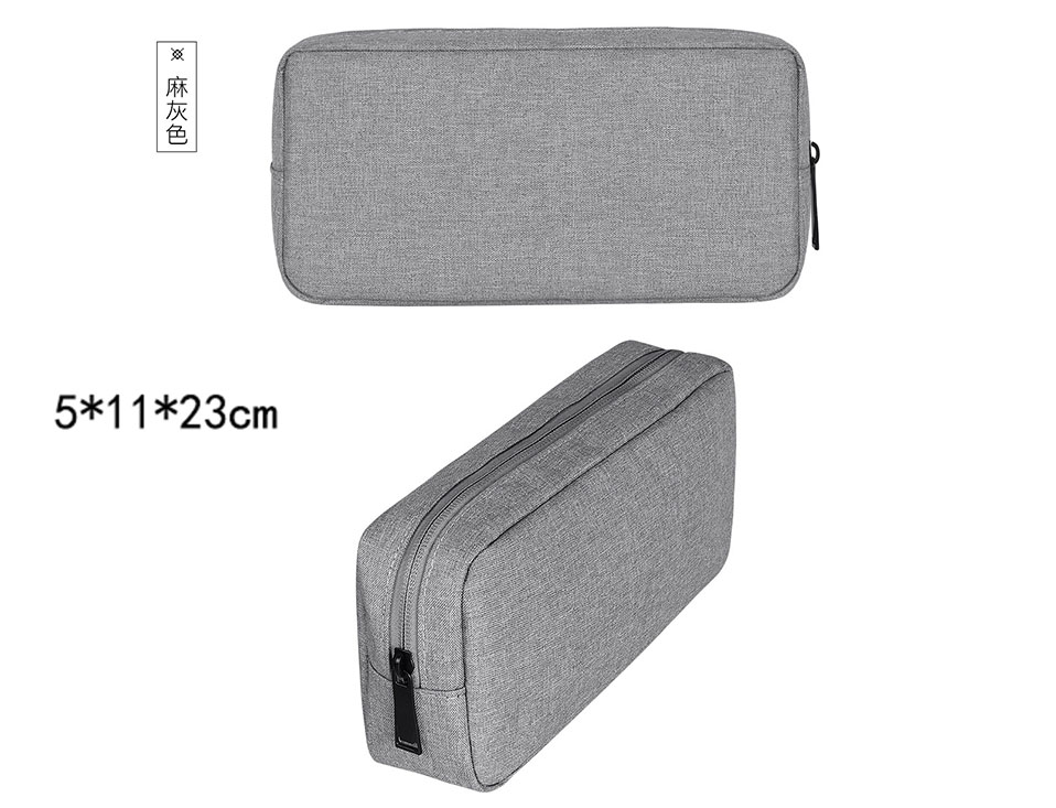 Travel Storage Portable Digital Accessories Gadget Devices Organizer USB Cable Charger Storage Case Travel Cable Organizer Bag (20)