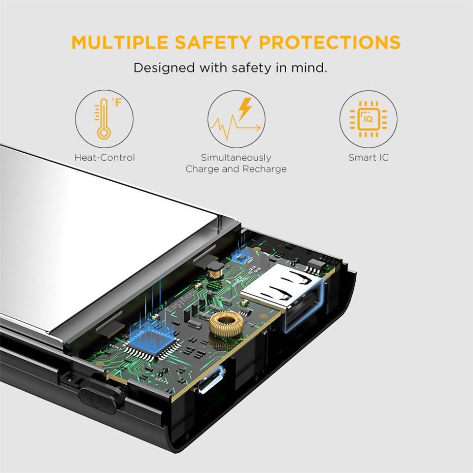 Banco do Poder moblie telefone tablets Saída : 5 V/2.1a