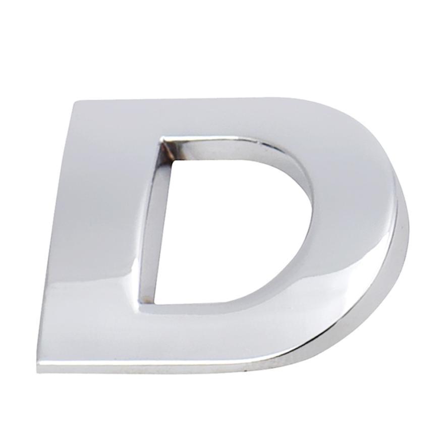 Лучшие продажи автомобилей DIY наклейки 3D наклейка эмблема значок DIY металлические авто наклейка А-М YYH# Бесплатная доставка Викки