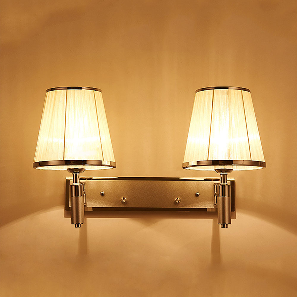 wall light fixtures for bedroom new modern fabric wall lamp led wall lights for bedroom 20087