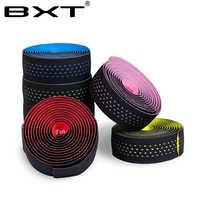 Free shipping Road Bicycle Handlebar Tape Belt Cycling Handle Bar Grip Wrap Anti-slip Anti-sweat Strap 2 Bar Bike Accessories