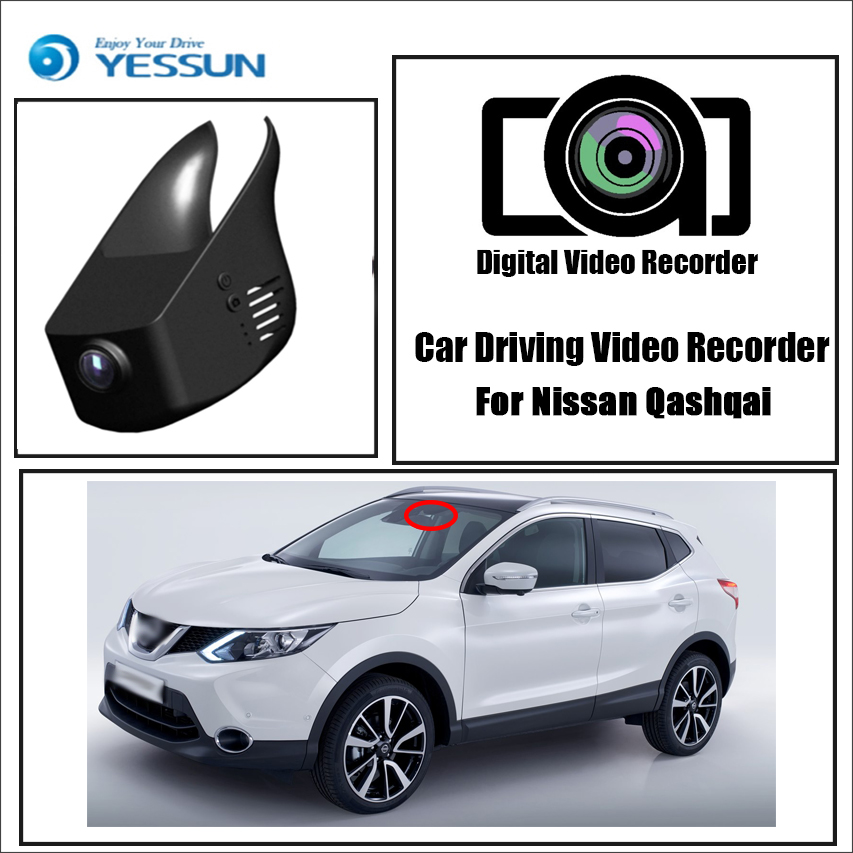 YESSUN Registrator Driving-Video-Recorder Car Dvr Wifi-Camera Control Dash-Cam Mini Nissan