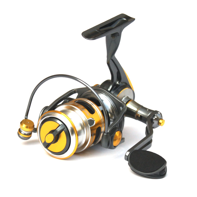 HENGJIA molinete pesca carretilha  garcia fish reel spinning wheel kate 4000 ultra-light fishing vessel waterproof round lure smart baitcasting reel 6bb 6 2 1 right left hand reel molinete peche carretilha carretes pesca lure wheel fishing line winder