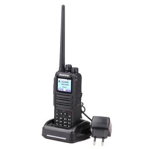 Image 4 - 2 Pcs Baofeng DM 1701 Walkie Talkie Dual Zeit Slot DMR Digitale Tier1 & 2 Tragbare Radio und SMS Funktion Von DM 5R DM 1701 Radio + USB
