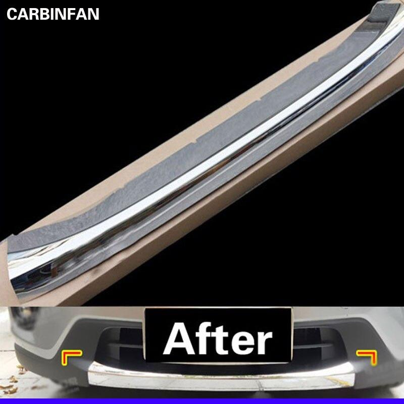 Chrome Front Bumper Trim Protection Exterior 1PC For 2012 2013 Mazda CX 5 CX5