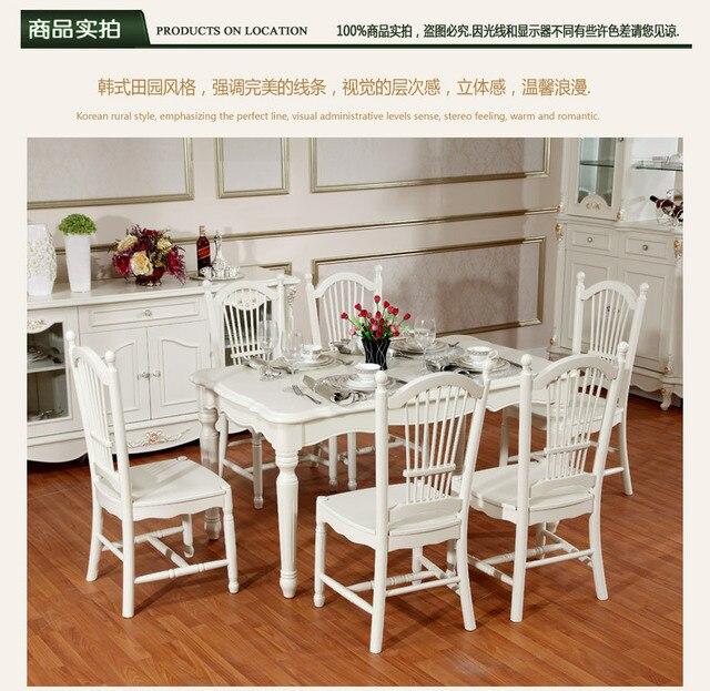Date gros Europe / coréenne style classique de salle à manger ...