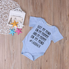 Newborn Brand 2017 One-pieces Adorable Newborn Baby Girl Boy Romper Jumpsuit Clothes Outfits Stock