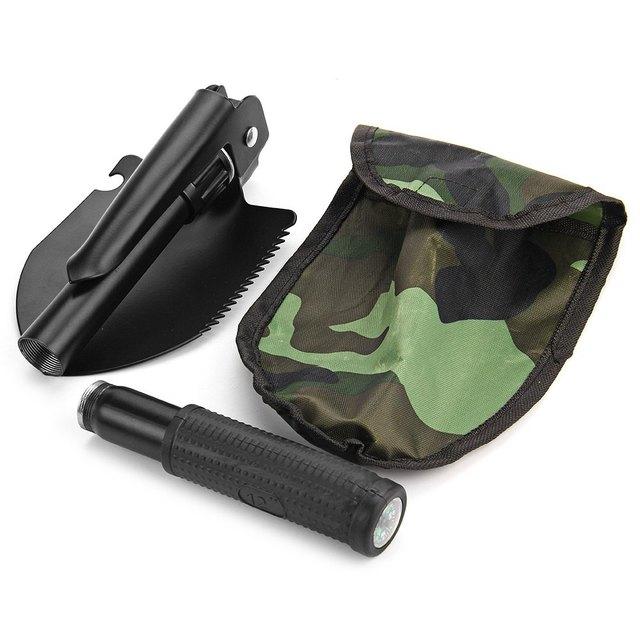 Multi-function Foldable Camping Shovel