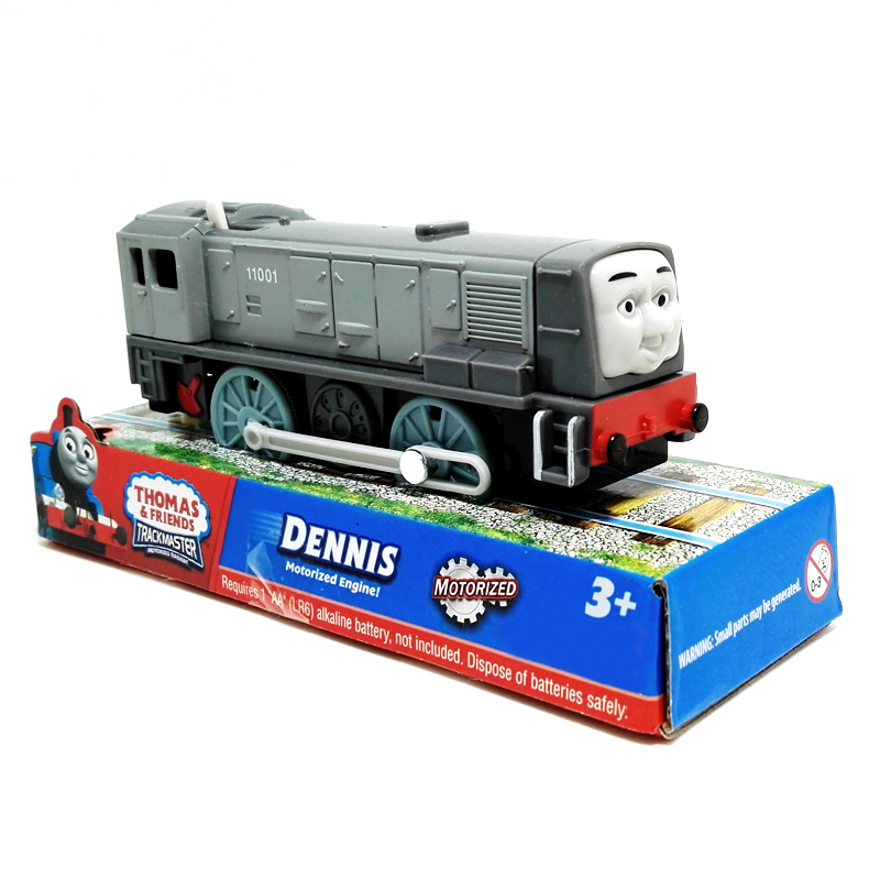 x133 Kids Toys Electric Thomas Train DENNIS Thomas And Friends Magnetic Thomas Truck Locomotive Engine Railway gift for boys