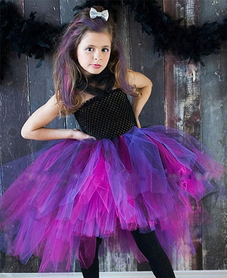 Otoño niños vestir vampiro 2 9 años M XL para Halloween Tutus ...