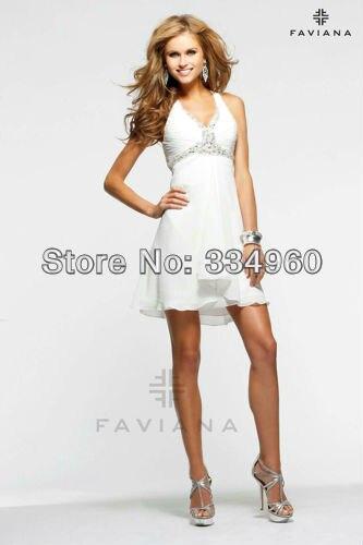 Sexy Plus Size Club Dresses A Line Pleat Mini Short Chiffon Beading