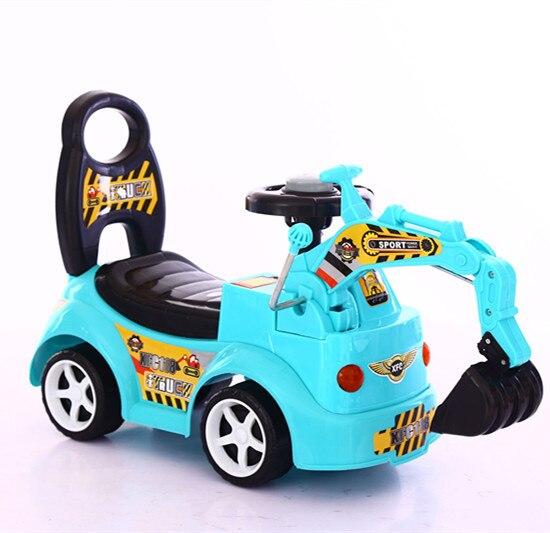 2017 nouvelle pelle pour enfants peut monter la grande pelle bébé crochet machine jouet voiture