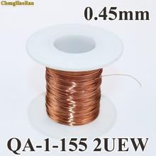 ChengHaoRan 0,45mm 1 m Línea alámbrica redondo esmaltado de poliuretano a 1 metro de la venta de QA 1 155 2UEW