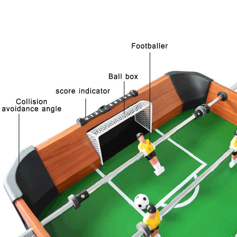 Прямых продажах Американский 4 модели восемь-бар Настольный футбол машина родитель-ребенок Деревянный Футбол стол подарки настольный футбол Вечерние PK Game
