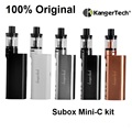 Оригинал Subox Mini-C Starter Kit 50 Вт Subox мини C Box Mod Жидкостью Vape с 3 мл Kangertech Protank 5 Распылитель 0.5ohm SSOCC испаритель