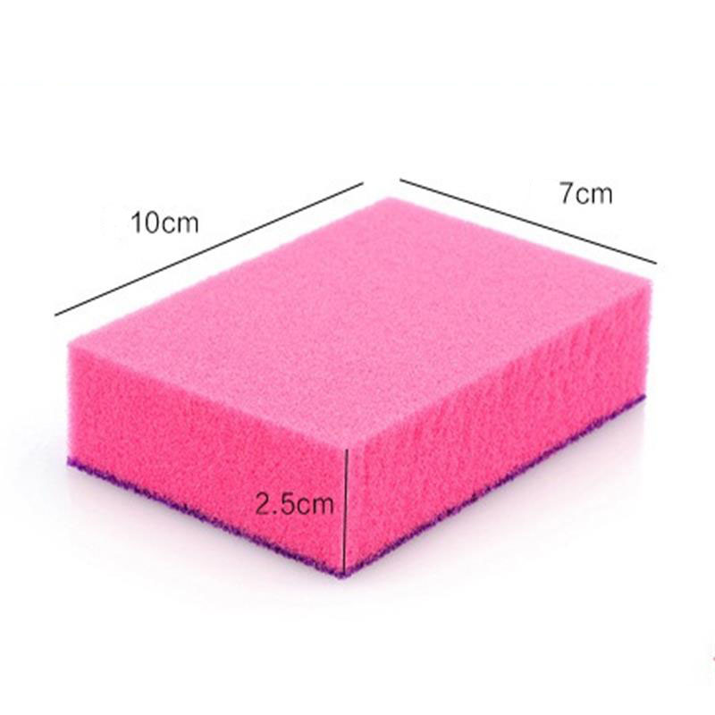 Image 5 - 1 Pcs Double sided Dual use Nano ceram Color Magic Sponge Cleaning Rust Decontamination Sponge Free shipping-in Sponges & Scouring Pads from Home & Garden