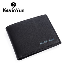 Kevin Yun Mode pu-leder männer geldbörsen marke geldbörse designer Schlanke brieftasche